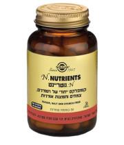 נוטריינט קומפלקס של ויטמינים צמחים וחומצות אמיניות SOLGAR N. NUTRIENTS סולגאר