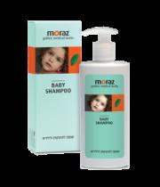 שמפו טבעי לתינוק | קמומיל ואכילאה Moraz Herbal Baby Shampoo מורז