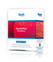 נוה פארמה אלקטרו רייס אלקטרוליטים למניעת התייבשות | ElectroRice Strawberry