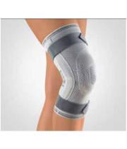מגן ברך עם טבעת סיליקון וציר | בורט Stabilo Knee Support with Articulated Joint