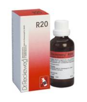 """ד""""ר רקווג DR. RECKEWEG טיפות הומיאופתיות R20"""