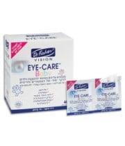 """מגבונים לעיניים לתינוקות וילדים לניקוי של העפעפיים והריסים 40 אריזות Eye Care BABY DR. Fischer VISION ד""""ר פישר"""