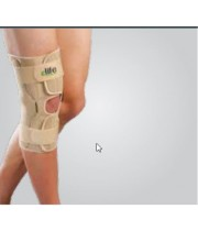 Wrap Around Hinged Knee Support | מייצב ברך עם צירים מבית ELIFE