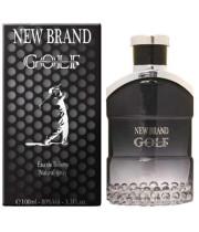 """בושם לגבר גולף בלאק מבית ניו בראנד 100 מ""""ל א.ד.ט NEW BRAND GOLF BLACK FOR MEN"""