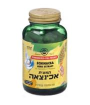 תמצית אכיניצאה 60 כמוסות SOLGAR Echinacea Extract סולגאר
