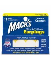 אטמי אוזניים למבוגרים | אטמי אוזניים מקצועיים Macks Earplugs