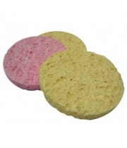 ויקטוריה אנג'לו ספוג עגול לניקוי הפנים Round Sponge