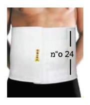 חגורת בטן/חזה לאחר ניתוח דגם 11EU אוריאל URIEL