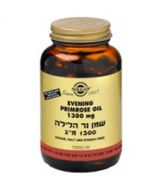 שמן נר הלילה לתופעות של גיל המעבר 30 כמוסות SOLGAR Evening Primrose Oil סולגאר