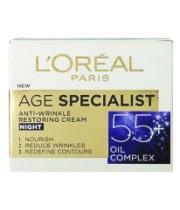 L'Oreal Age Specialist +55 קרם אנטי-אייג'ינג 50 מ''ל