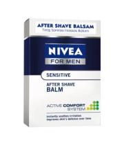 תחליב לחות מרגיע לגבר לאחר גילוח לעור רגיש | NIVEA MEN SENSITIVE Post Shave Balm ניוואה