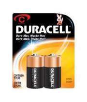 2 סוללות דורסל Duracell C