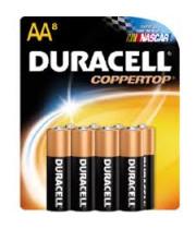 סוללות דורסל AA שמינייה Duracell