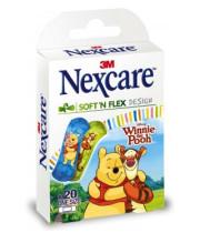 פלסטרים לילדים פו הדוב נקסקר NEXCARE SOFT AND FLEX WINNIE POOH