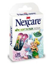 פלסטרים לילדים וילדות פיות נקסקר NEXCARE SOFT AND FLEX FAIRIES