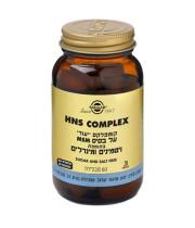 קומפלקס ייעודי בתוספת ויטמינים ומינרלים 60 טבליות SOLGAR HNS COMPLEX סולגאר