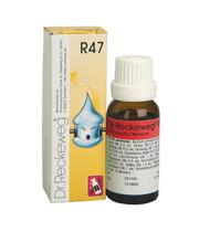 "DR. RECKEWEG R47 ד""ר רקווג טיפות הומיאופתיה"