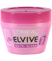 אלביב מסכה לשיער נוטרי גלוס | L'Oreal Elvive Nutri-Gloss Intensive Shine Masque לוריאל