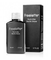 Freelette פרילט תחליב לפני ואחרי גילוח חשמלי