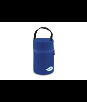 תיק תרמי כחול נוביטה עבור אוכל בקבוקים