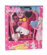 Barbie & Me ברבי ואני סט טיפוח לכלב Style n' Go Poodle Pouch