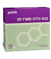 ויטמין B12 פלוס חומצה פולית אלטמן 200 טבליות מציצה במארז זוגי