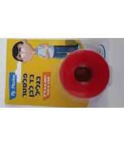 """פלסטר בד לבן בגליל 2.5 ס""""מ אורך 5 מטר MR. PLASTER"""