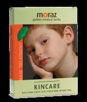 KINCARE כינקייר ערכת שמפו טבעי לטיפול בכינים ומרכך רוזמרין מורז