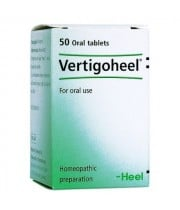 ורטיגו היל טבליות הומיאופתיה למצבים של סחרחורות HEEL Vertigoheel