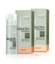 SeboCalm Innovation |  סבוקלם קרם BB | כיסוי מושלם לכתמים, מיצוק העור ו-SPF35
