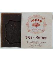 סבונטו סבון טבעי נטו בעבודת יד פצ'ולי וניל