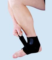 מגן קרסול נאופרן עם רצועה אסא | ASSA Open Ankle Brace with strap