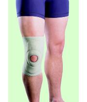 מגן ברך מרופד עם חור בפיקה אסא | ASSA Knee Brace padded