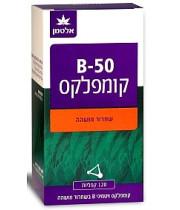 אלטמן ויטמין B-50 קומפלקס 120 קפליות בשחרור מושהה
