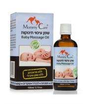 שמן תינוקות אורגני - שמנים צמחיים לעיסוי עור התינוק Mommy Care מאמי קר