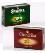 סבון של פעם | סבון מוצק צנדריקה - סבון הודי מוצק ,סנדל - CHANDRIKA SANDAL SOAP