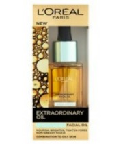 l'oreal paris New Extraordinary Oil  שמן הזנה לפנים לשימוש יומיומי לוריאל