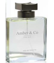 """בושם לגבר AMBER & CO אמבר אנד קו 100 מ""""ל א.ד.ט"""