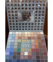 צלליות לעיניים + סומק סט 6 צבעים קלאסיק קוסמטיקס | Classic CHIC SET Eye Shadows