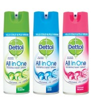 דטול ספריי חיטוי משמיד וירוסים וחיידקים DETTOL Spray