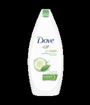 """תחליב רחצה מזין מלפפונים 750 מ""""ל Dove Go Fresh"""