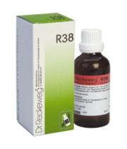 """ד""""ר רקווג - R38 טיפות Dr. Reckeweg Drops"""