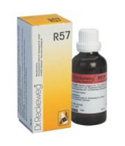 """ד""""ר רקווג - R57 טיפות Dr. Reckeweg  Drops"""
