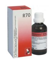 """ד""""ר רקווג - R70 טיפות Dr. Reckeweg Drops"""