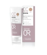 """CC קרם - מייק אפ אנטי אייג'ינג +Dr. Or CC Cream SPF50 ד""""ר עור"""