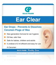 איר קליר EAR CLEAR | טיפות להמסת פקקי שעווה באוזניים
