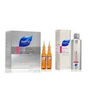 פיטוציאן אמפולות לשיער דליל לנשים + שמפו לשיער | PHYTO PARIS PHYTOCYANE Ampules + Shampoo