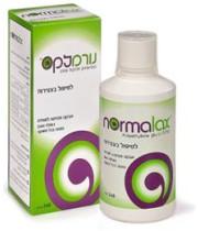 נורמלקס   לטיפול בעצירות - אבקה מסיסה לשתיה נטולת טעם