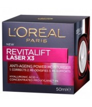 קרם יום | L'Oreal Revitalift Laser Day Cream לוריאל רויטליפט לייזר