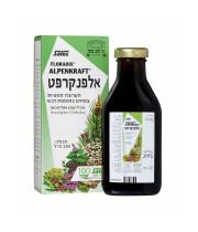 אלפנקרפט סירופ תערובת תמציות צמחים בתוספת דבש ALPENKRAFT